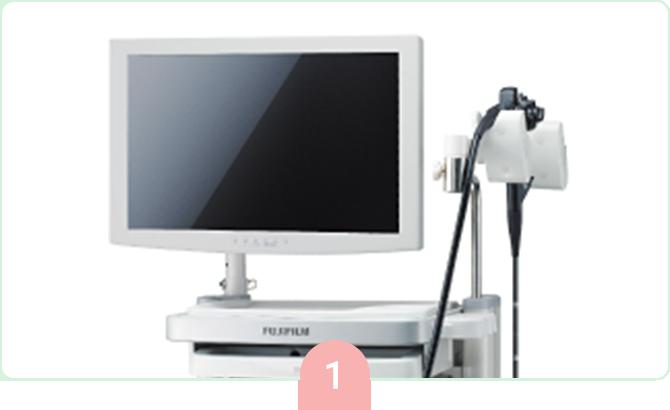 最新のレーザー内視鏡システム