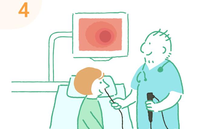 胃内視鏡検査 検査時間5〜10分